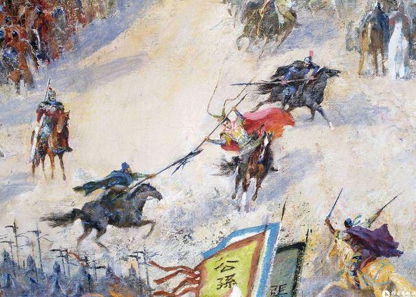 duel between generals
