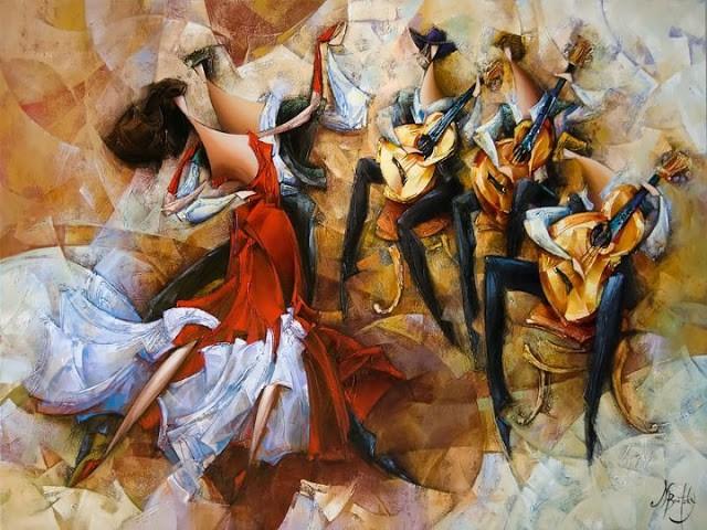 Израильский художник. Nathan Brutsky 17