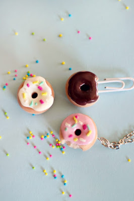 diy donut necklace