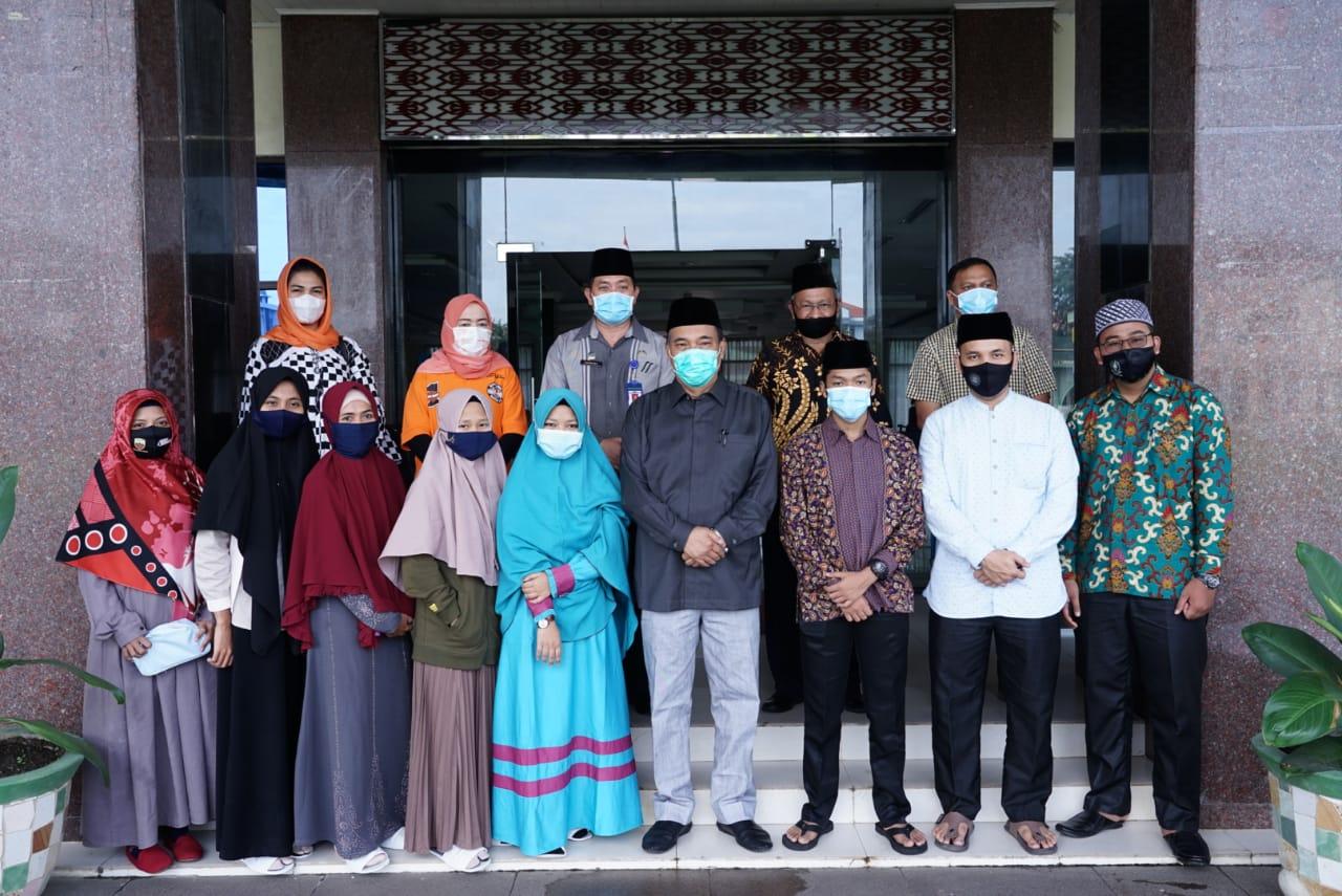 Kafilah Tebingtinggi Ikuti Kancah MTQ Nasional, Walikota : Jaga Nama Baik Tebingtinggi dan Sumut