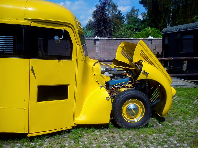 Rodcitygarage 1938 Ford Schoolbus