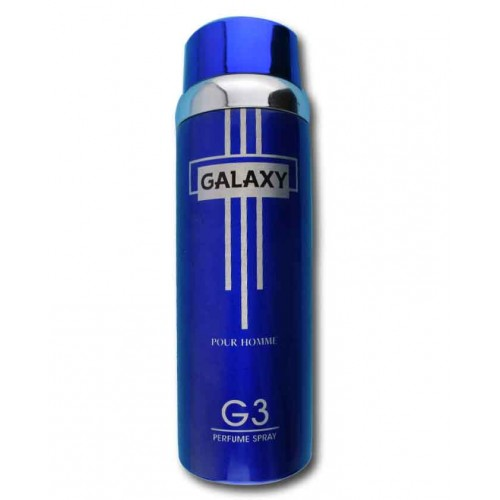 Galaxy Plus G 3 200 ml Body Spray 6.67 fl.oz.