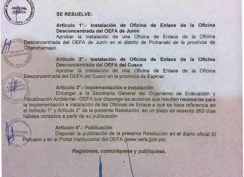 Group 10 notic as huancayo se aprob la instalaci n de for Oficinas de correos en malaga