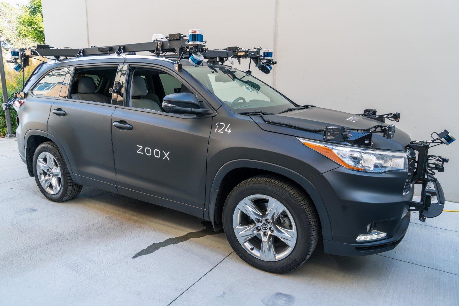 Amazon Buying Self-Driving Car Start-Up Zoox