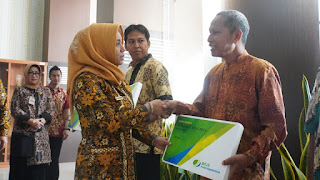 Pertama di Indonesia, RT dan RW di Kota Mojokerto Dapat Perlindungan BPJS Ketenagakerjaan