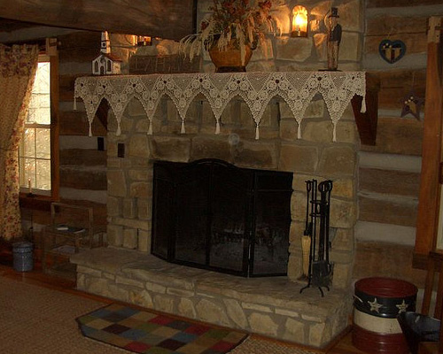 Perfect Stone Fireplace Pictures