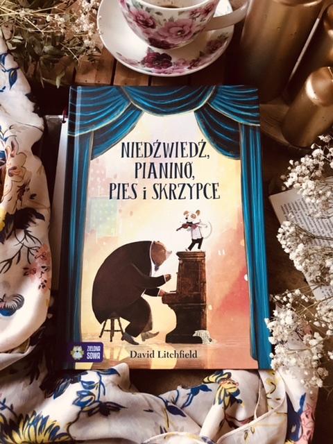David Litchfield, Niedźwiedź, pianino, pies i skrzypce