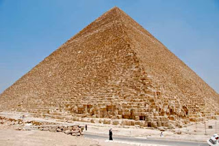 Great Pyramid of Krufu Giza Egypt