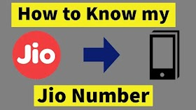 How to Know My JIO Number 2021 Trick