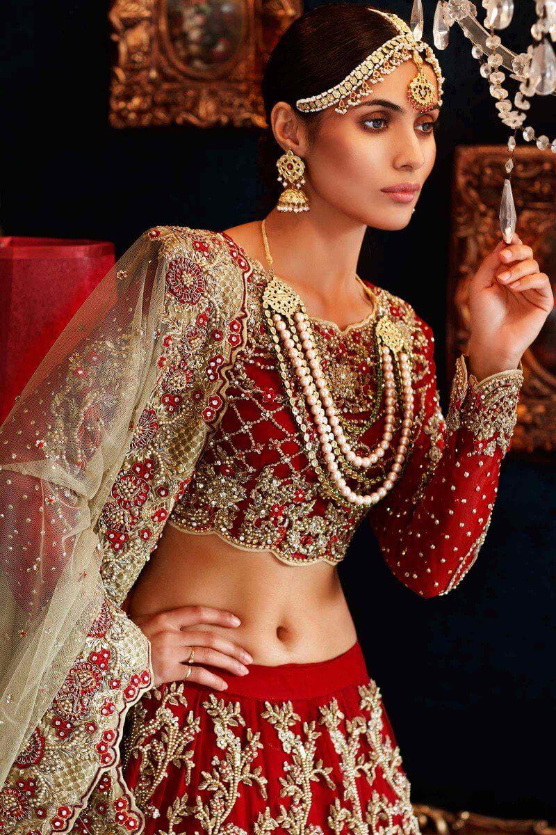 Maria B Bridal Walima Dresses for Pakistani Brides Online in UK