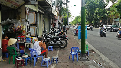 uliczne jedzenie Wietnam Hanoi