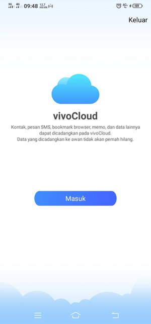 Cara Daftar Dan Membuat Akun Vivo Cloud Indonesia Gambar Cbbdblog Net