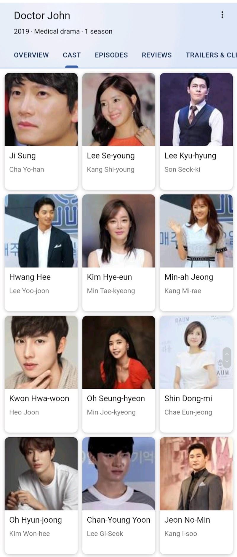 Korean Drama : Doctor John