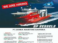 Info pelaut, JOB PT. Sierra Maritime Sejahtera