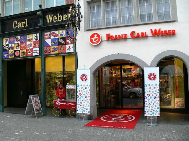 Lojas de brinquedos em Zurique