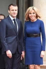 President Macron and wife