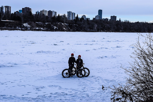 fat biking, edmonton, kanada