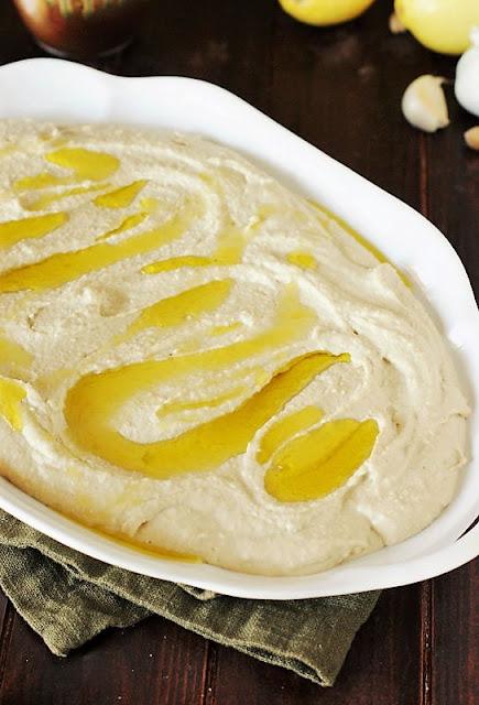 How to Make Loaded Hummus Dip Image