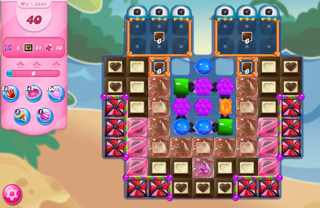Candy Crush Saga level 8537