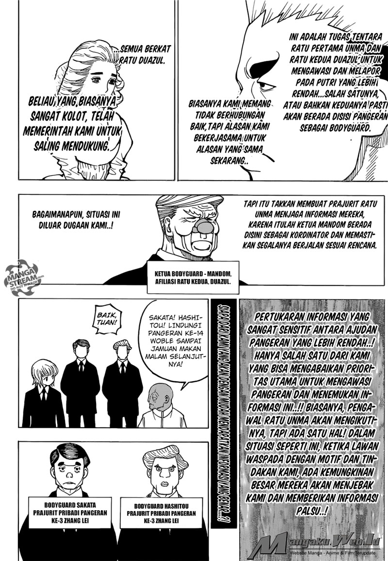 Hunter X Hunter – Chapter 366 : Masing – Masing