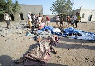 bombardement attribué à la coalition saoudienne