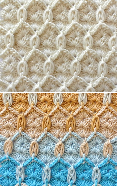 Crochet Textured Stitch - Free Pattern & Tutorial