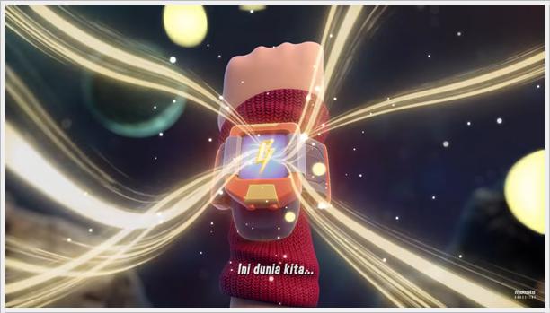 BoBoiBoy Galaxy - Kuasa Elemental