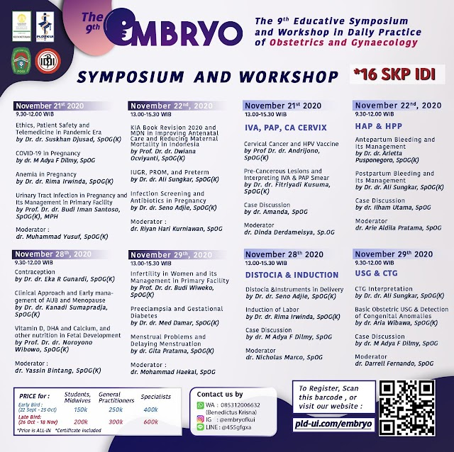 EMBRYO Symposium & Workshop 8 SKP IDI