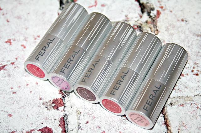 Feral Cosmetics Ultra Satin Lipsticks