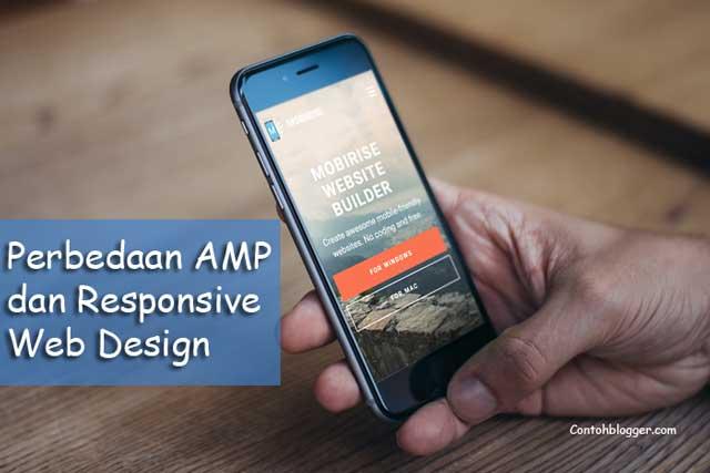 Perbedaan AMP dan Responsive Web Design