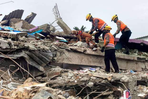 Earthquake death toll at 73 as Indonesia struggles with series of disasters