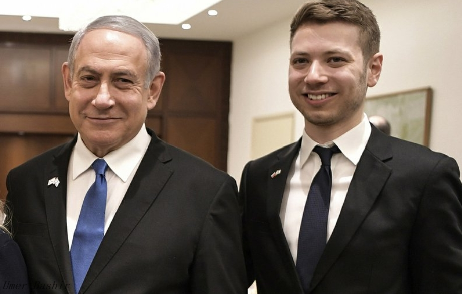 The son of an Israeli leader is the center of corruption charges