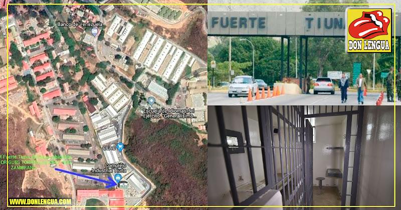 En una semana queda lista la cárcel hecha a la medida por Maduro para Juan Guaidó en Fuerte Tiuna