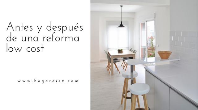 Antes y después de una reforma low cost