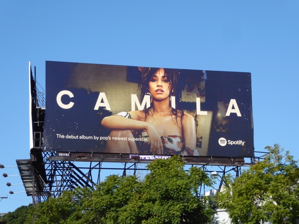 Camila Spotify billboard