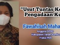 Anggota DPRD Kabupaten Tanbu, Fawahisah: Usut Tuntas Korupsi Pengadaan Kursi