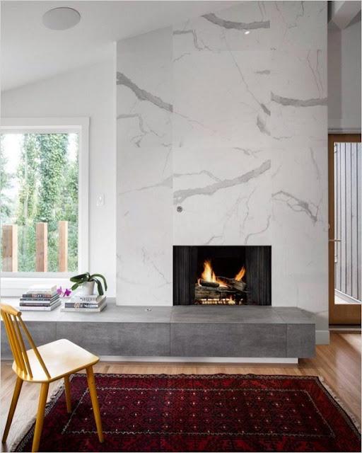marble fireplace surround design ideas modern
