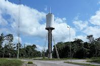 Reservatório elevado do Parque de Ciência e Tecnologia Guamá