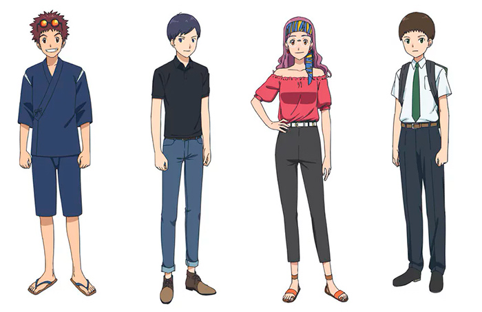 Digimon Adventure: Last Evolution Kizuna - personajes