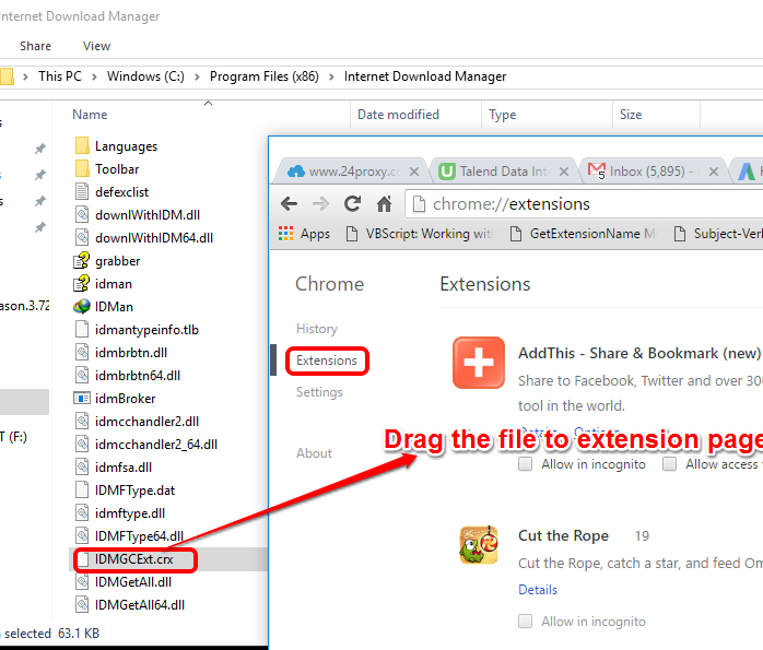 How to add idm extension in chrome browser techies house go to extension and drag and drop idm crx file to the chrome extension page ccuart