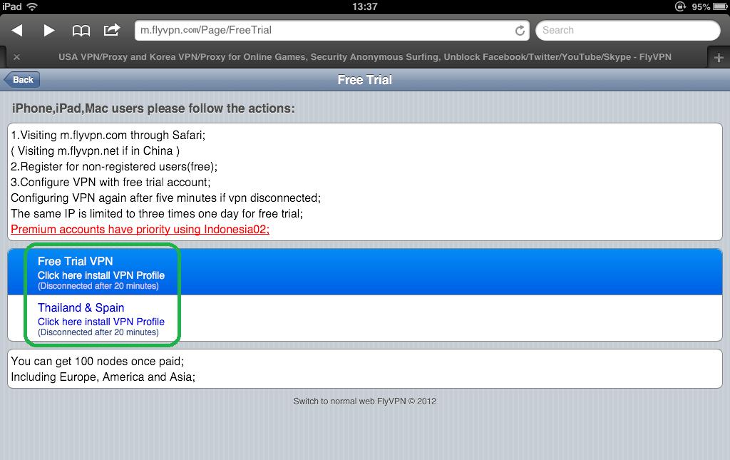 Flyvpn Register