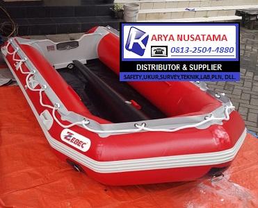 Jual Safety Perahu Karet 4orang ZEBEC 290 Kumplit di Makasar