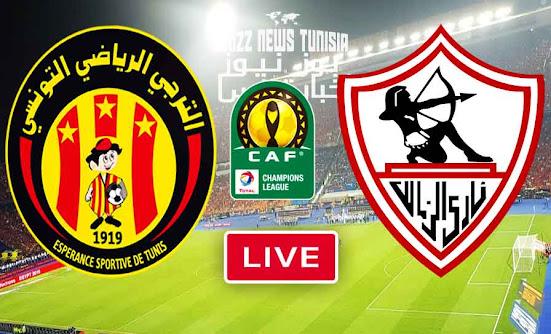 Match Esperance vs Zamalek Live Stream