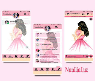 Girls & Baby Theme For YOWhatsApp & Fouad WhatsApp By Natalia Luz