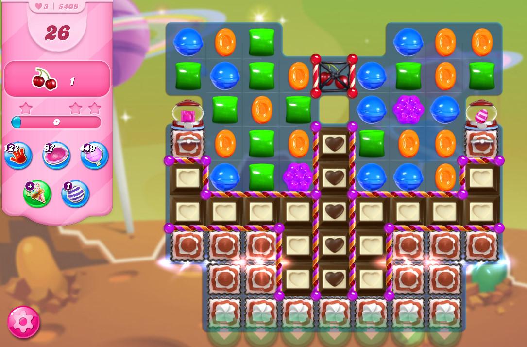 Candy Crush Saga level 5409