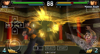 Download DragonBall Evolution PPSSPP High Compress