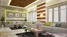 Beautiful Home Interior Design - Kerala And