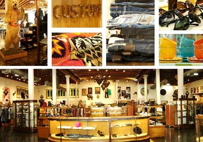 Celebrity clothing store