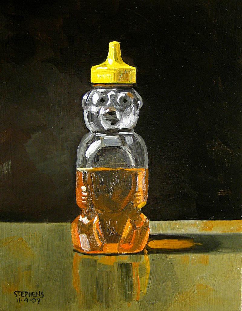 Honeybear Paintings by artist Craig Stephens