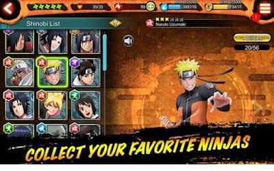 game naruto x boruto ninja voltage